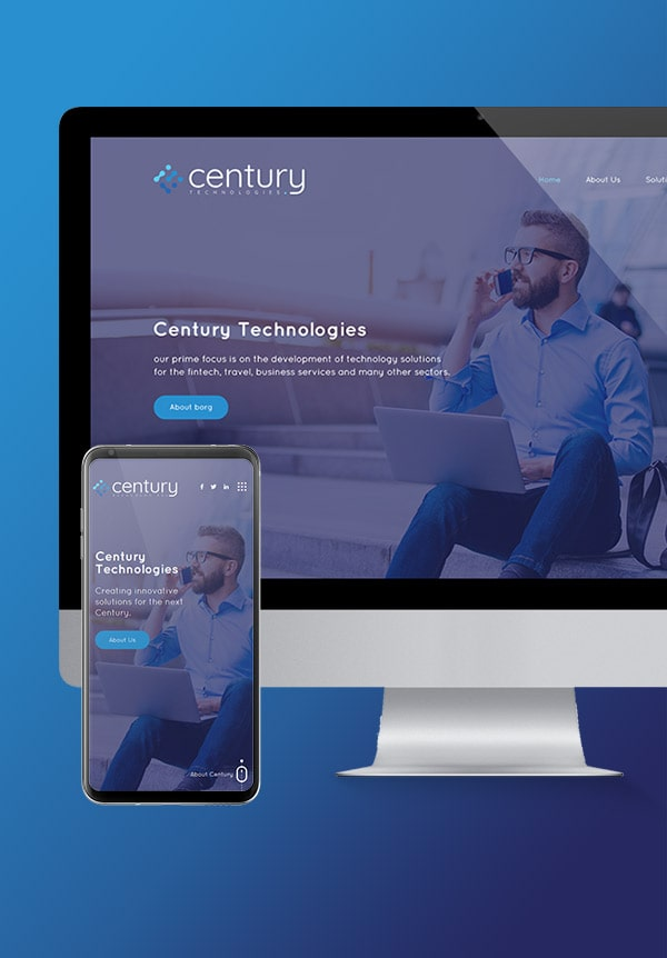 Century Tech Website Design Project